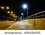 the city street | Shutterstock . vector #694106935