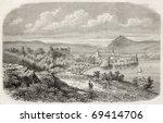 annecy  the alpine town in... | Shutterstock . vector #69414706
