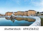 vienna  austria  july 21 2017 ... | Shutterstock . vector #694156312