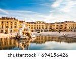 vienna  austria  july 7 2017 ... | Shutterstock . vector #694156426
