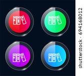 archives four color glass...