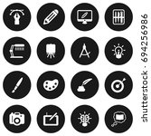 Set Of 16 Constructive Icons...