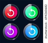 reload four color glass button...