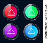 eject four color glass button...