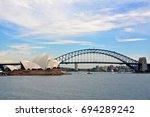 Small photo of Sydney Opera and Bridge Harbor
