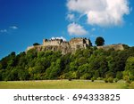 stirling castle  scotland ... | Shutterstock . vector #694333825