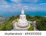 Aerial View Big Buddha Of...