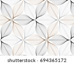flower pattern vector ... | Shutterstock .eps vector #694365172