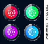 solution four color glass...