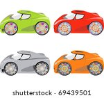 complete set of car vector