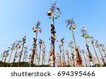 jakarta indonesia  august 2016... | Shutterstock . vector #694395466