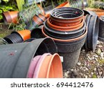 Lots Of Old Flower Pots Waitin...