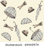 illustration of vintage... | Shutterstock .eps vector #69443974