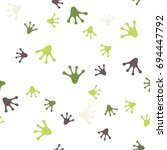 the seamless pattern with...   Shutterstock .eps vector #694447792