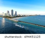 fort lauderdale scape | Shutterstock . vector #694451125