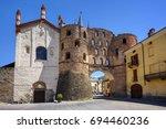 The Antique Roman Porta Savoia...
