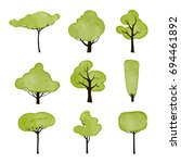 vector collection of isolated