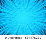 abstract comic book background  ... | Shutterstock .eps vector #694476232