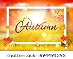 autumn | Shutterstock .eps vector #694491292