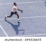 montreal   august 10  roger... | Shutterstock . vector #694518655