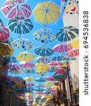 agueda in portuguese | Shutterstock . vector #694536838