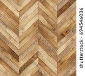 seamless wood parquet texture ... | Shutterstock . vector #694546036
