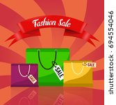 sale banner template design... | Shutterstock .eps vector #694554046