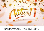 stock vector illustration happy ... | Shutterstock .eps vector #694616812