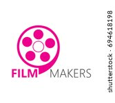 film makers logo | Shutterstock .eps vector #694618198