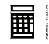 calculator icon business... | Shutterstock .eps vector #694653496