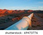 beautiful sunrise lighting on a ... | Shutterstock . vector #69473776