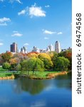 new york city central park in... | Shutterstock . vector #69474568