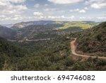 mingus mountain road   Shutterstock . vector #694746082