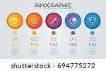 infographic elements vector... | Shutterstock .eps vector #694775272