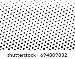 halftone background. comic... | Shutterstock .eps vector #694809832