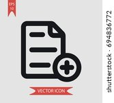 text file vector icon ...