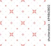 seamless geometric diagonal... | Shutterstock .eps vector #694863802