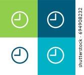 round clock at nine oclock ...