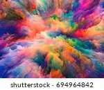 color splash series.... | Shutterstock . vector #694964842