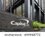 new york city  new york  ... | Shutterstock . vector #694968772