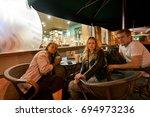 saint petersburg  russia  ... | Shutterstock . vector #694973236
