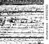 grunge texture black and white. ... | Shutterstock . vector #695032582
