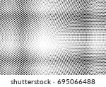 abstract halftone dotted grunge ... | Shutterstock .eps vector #695066488