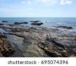 krabi   thailand   march 11...   Shutterstock . vector #695074396