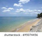 krabi   thailand   march 11...   Shutterstock . vector #695074456