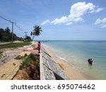 krabi   thailand   march 11...   Shutterstock . vector #695074462
