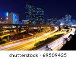 modern city at night | Shutterstock . vector #69509425