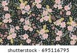 simple cute pattern in small...   Shutterstock . vector #695116795