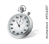 vector stopwatch | Shutterstock .eps vector #69516307