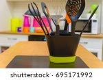 modern plastic kitchen utensils